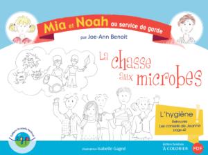 Album La chasse aux microbes